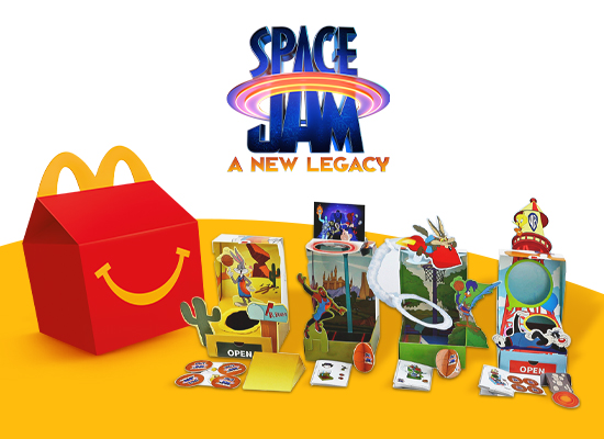 The Marketing Store celebrates the launch of Space Jam: A New Legacy with sustainable Happy Meal programme