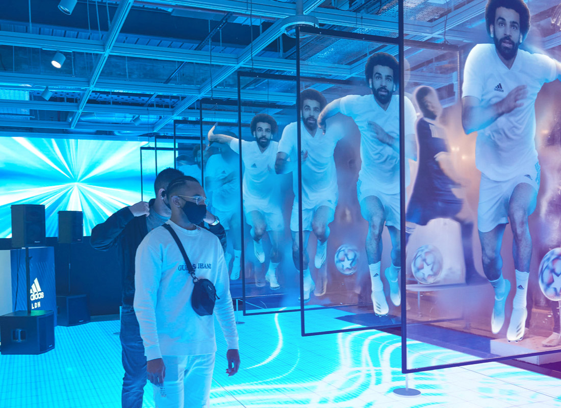 Explore our X20 activation in adidas' London flagship store.