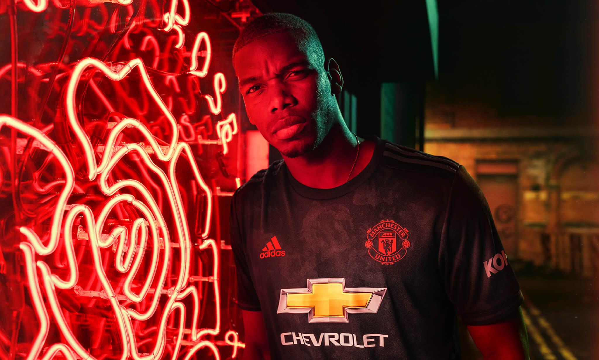 Adidas Man United kit launch